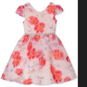 Other - Little girls floral formal dress